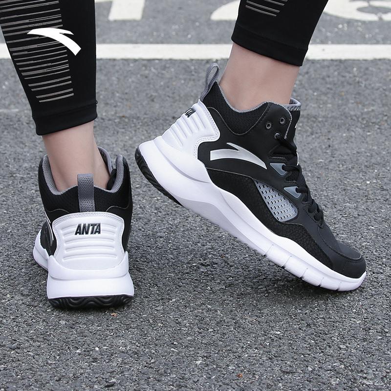 安踏官网篮球鞋男鞋2019夏季新款KT高帮减震正品球鞋学生运动鞋子