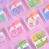 Giant door loose-leaf random ring loose-leaf bookbinding ring spiral plastic opening ring hoop buckle detachable candy color