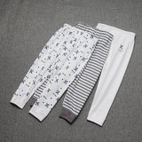3 loaded Japanese new children's autumn pants male baby cotton pants home pants trousers no fluorescent spring and autumn winter models