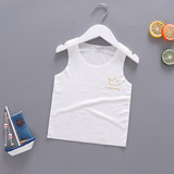 Baby vest thin section modal belly summer super soft free sleeveless shirt newborn baby boneless vest