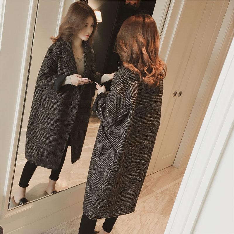 韩国单大衣