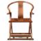 红木家具非洲花梨木交椅实木圈椅三件套仿古太师椅中式休闲皇宫椅