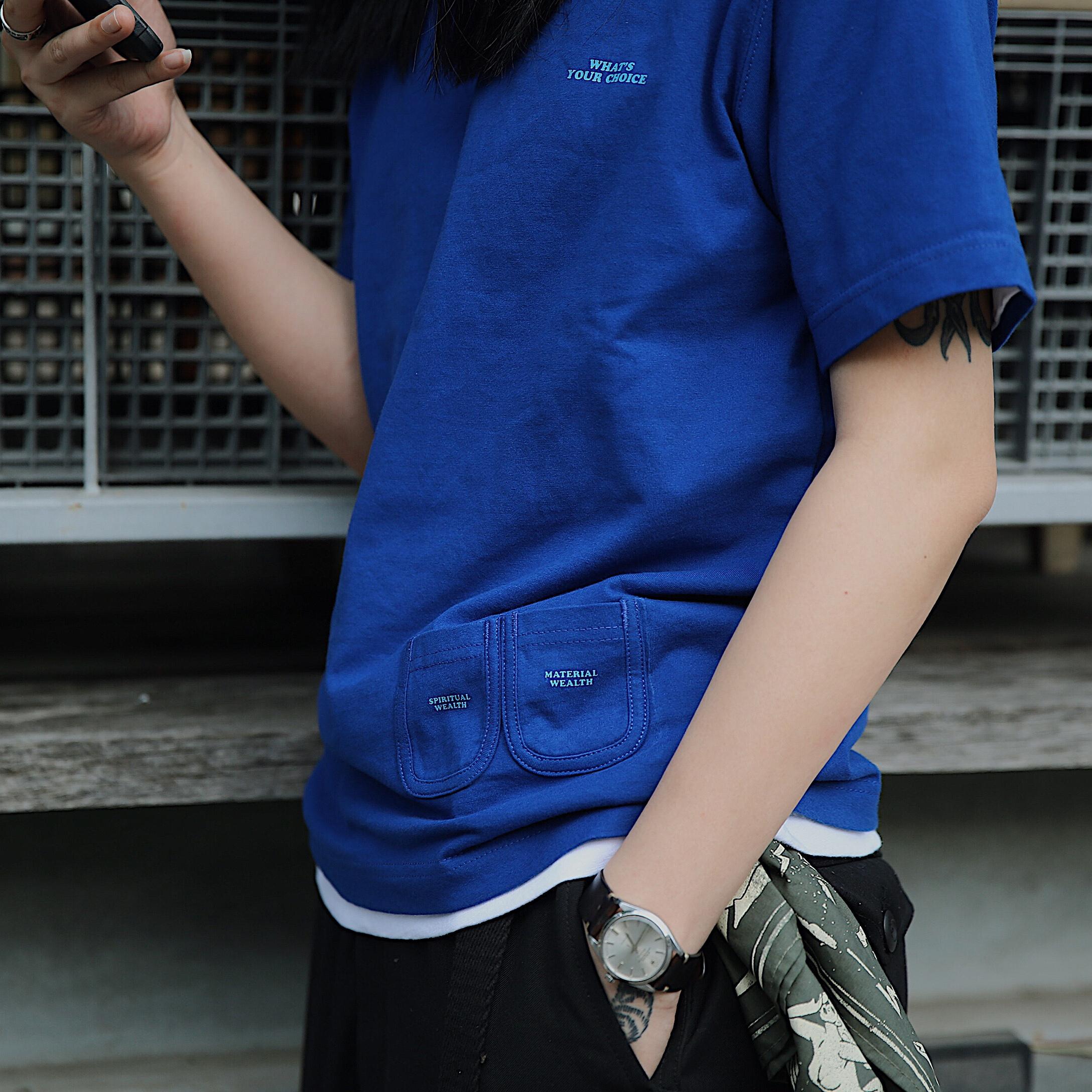 SUPERTOFU 18SS 趣味 口袋 T恤 TEE