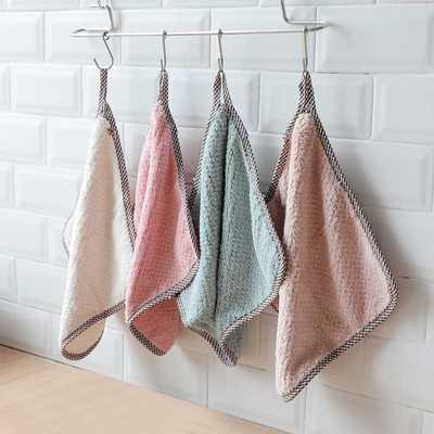 布子擦桌子家用厨房用品家务吸水抹布洗碗布巾刷擦碗的专用布清器