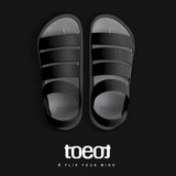 Korea TOEOT sports sandals men's casual shoes summer travel holiday seaside beach shoes lovers cool drag