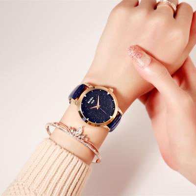 佰玛品牌正品新款简约时尚潮流学生超薄休闲韩版石英表手表女腕表官方旗舰店
