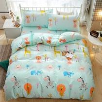 定做纯棉幼儿园三件套1.2 1.5米床上用品 卡通儿童全棉床单套件