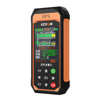 High-precision GPS acre meter harvester special hand-held measurement acres Wang amount field land area measuring instrument