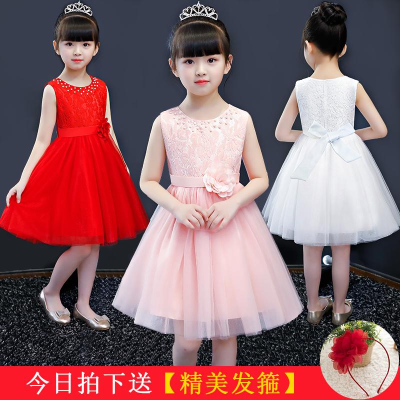 公主裙蓬蓬裙礼服女童