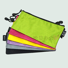 Port and Spherical Colour Ticket 861 Waterproof Zipper Bag Thickened Braid Side Bag Information Bag Receiving Bag File Bag
