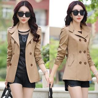中年轻少妇女装秋装风衣服秋天外套冬天中长款30到40多岁穿45至35