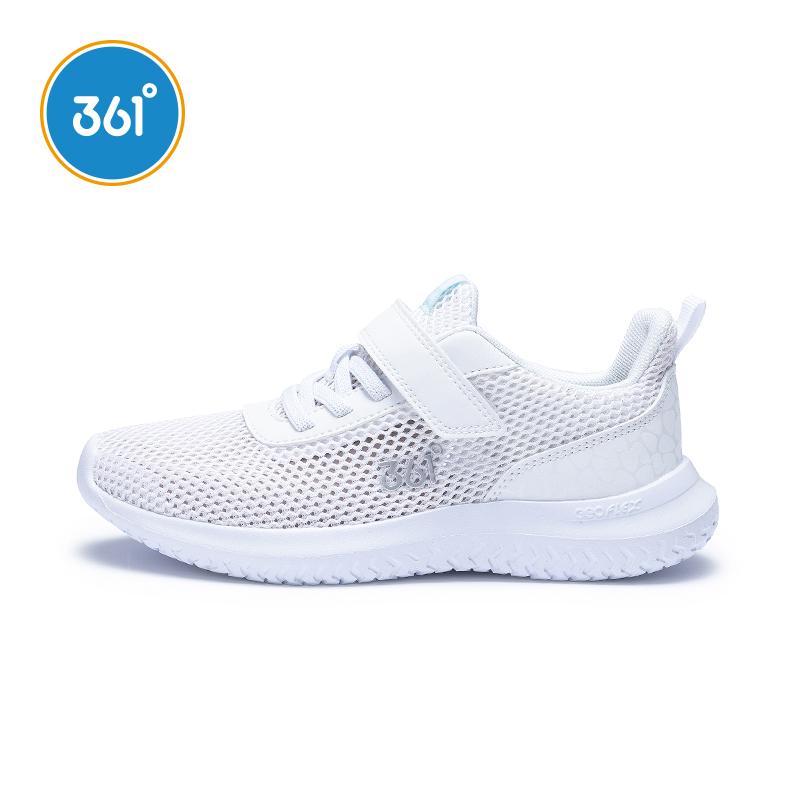 361童鞋 女童跑步鞋2019新款秋季網面休閑鞋子361度兒童運動鞋女R