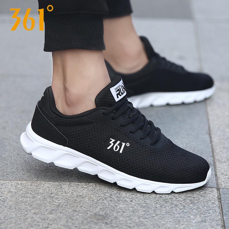 361男鞋 跑步鞋秋季透气2018新款正品休闲跑鞋361度运动鞋男冬季R