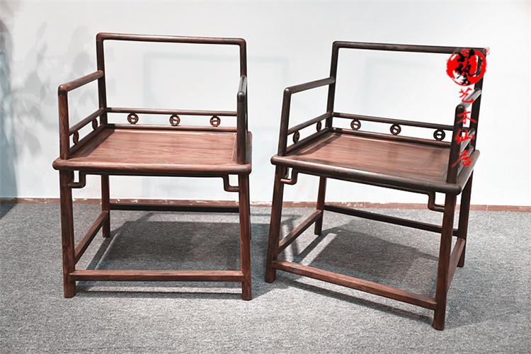红酸枝家具红木经桌大红酸枝禅椅休闲桌五件套 会议供桌 交趾黄檀