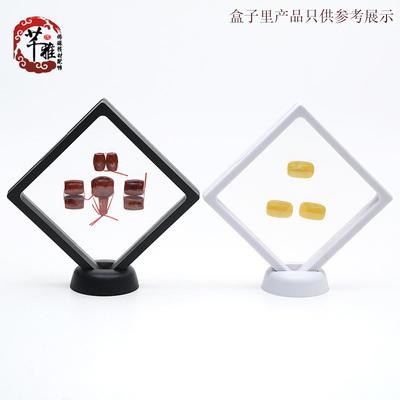芊雅文玩PE薄膜首饰架透明亚克力悬浮包装盒手串收纳盒珠宝展示架