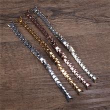 R800钨钢手链表带劳士顿索帝时金仕盾表链节格林手表配件