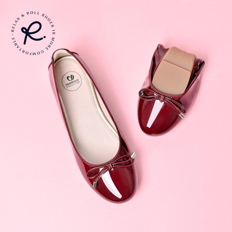皮蛋卷女鞋