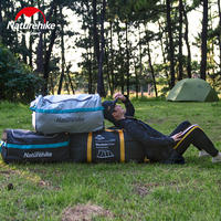 NH mobile folding storage bag waterproof outdoor travel luggage box tent camping equipment large portable debris bag