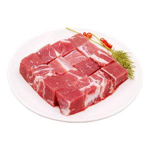 【伊赛】澳洲进口牛腩块1000g 进口牛肉排酸冷冻牛肉