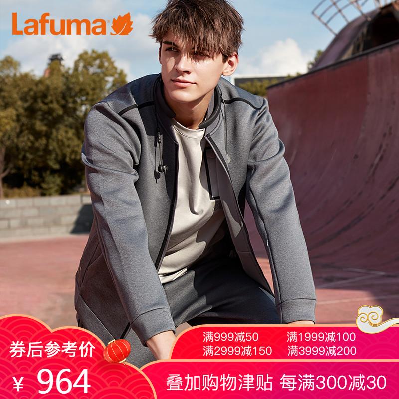 法国LAFUMA乐飞叶男士户外旅行棒球领轻便宽松夹克外套LMJA8CN88