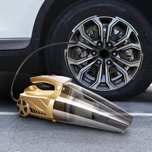 车载吸尘器充气汽车打气泵强力车用家用两用大功率四合一无线充电