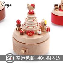 宫崎骏发光飘雪水晶球送女生日礼品儿童闺蜜浪漫创意朋友礼物