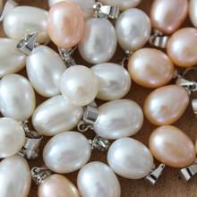 天然淡水珍珠89mm吊坠单颗正品水滴形饰品简约特价女饰品项链