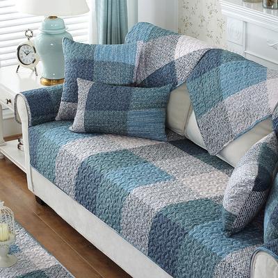 全棉沙发垫坐垫防滑