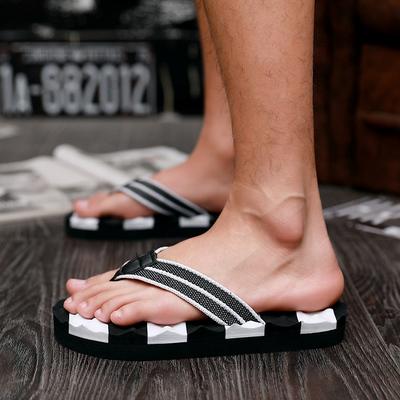 夏季人字拖男拖鞋潮男士凉鞋防滑软底夏天室外穿夹脚沙滩凉拖大码