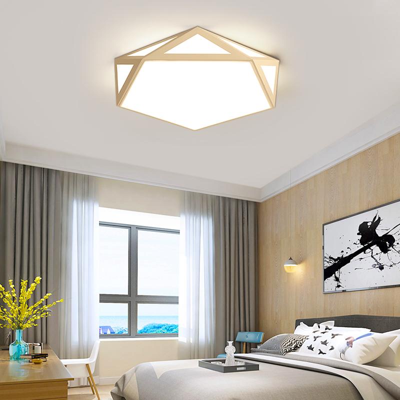 卧室灯LED吸顶灯具客厅圆形简约现代餐厅创意个性房间过道阳台灯