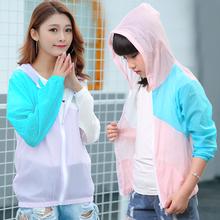 女童长袖 新款 防晒 服春夏童装 衣韩版 儿童亲子装 中大童薄外套