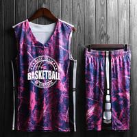 迷彩篮球服球衣