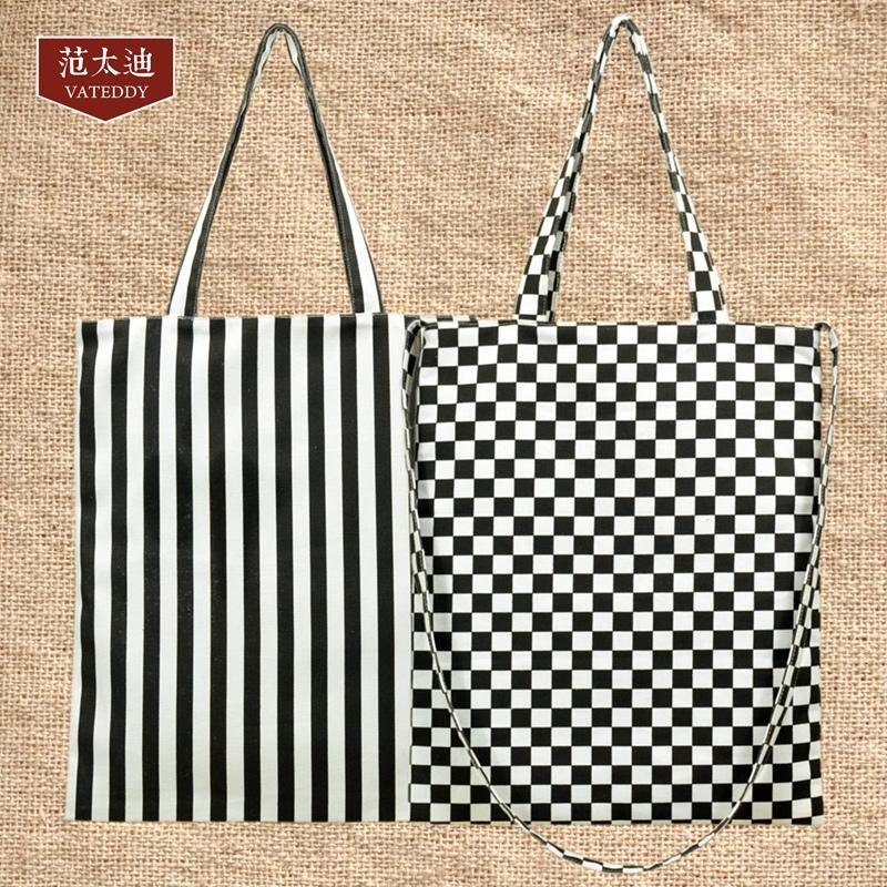 黑白包包手提