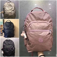 New Type of Backpack for Women and Korean Backpack for College Students, Large Capacity Travel Bag, Nylon Leisure Shoulder Backpack