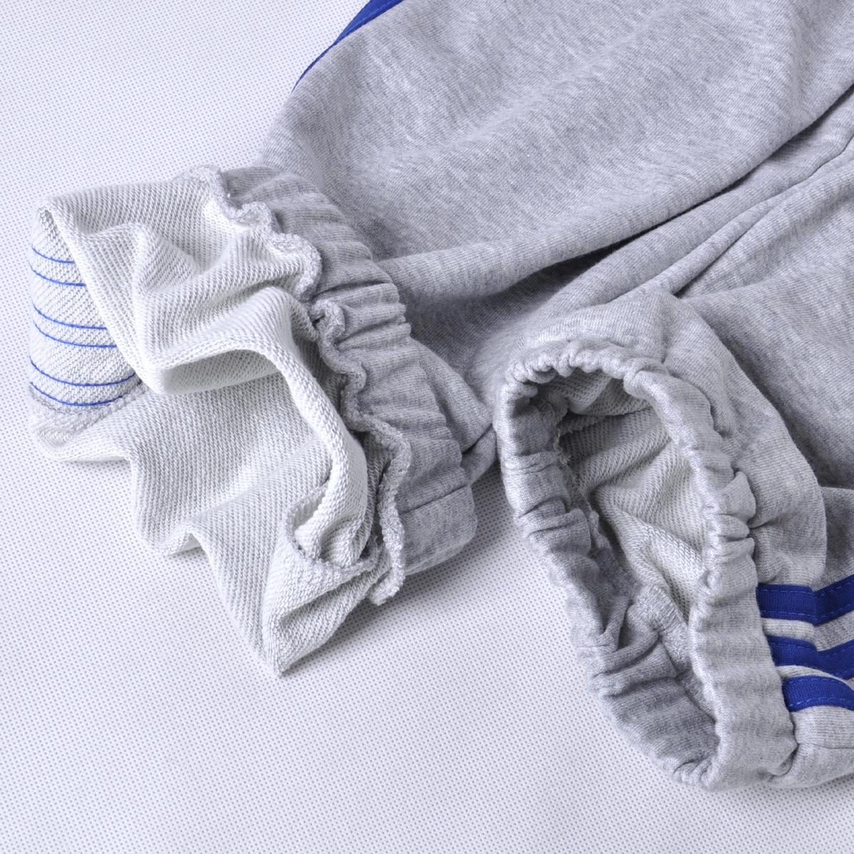 加绒运动裤男长裤秋冬跑步裤大码宽松收口裤秋季针织休闲篮球卫裤