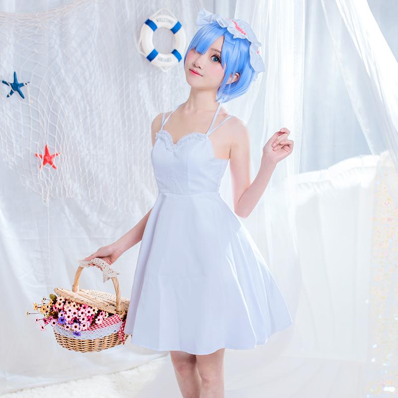 【悠悠家】从零开始蕾姆拉姆cos服雷姆连衣裙女cosplay服套装现货
