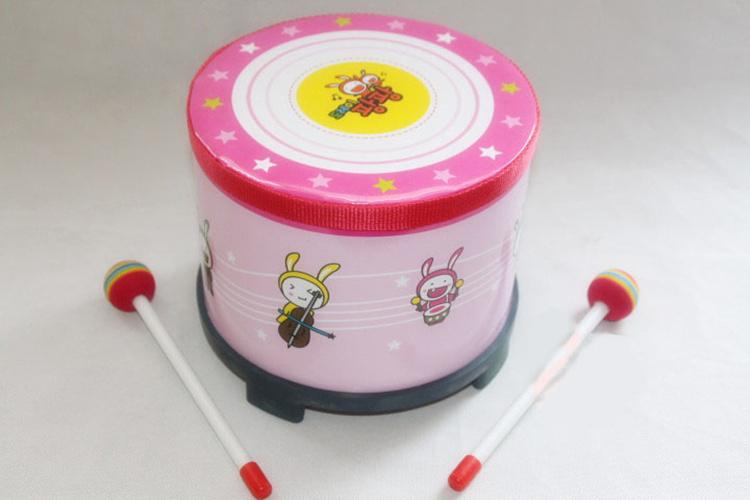 包邮奥尔夫乐器儿童鼓韩国益智玩具鼓乐器音乐手拍鼓玩具宝宝敲鼓