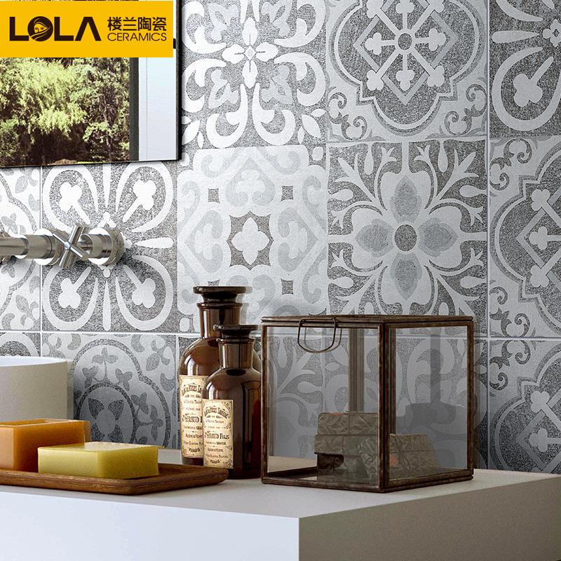 楼兰瓷砖背景墙砖花砖仿古砖客厅厨房卫生间墙砖地砖 斯里兰卡