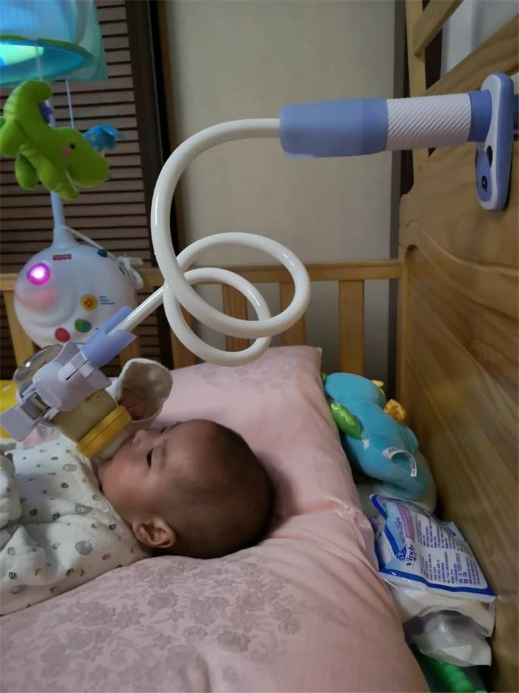 宝宝喂奶神器懒人床上多功能双胞胎奶瓶支架婴儿自动喝奶奶瓶夹架
