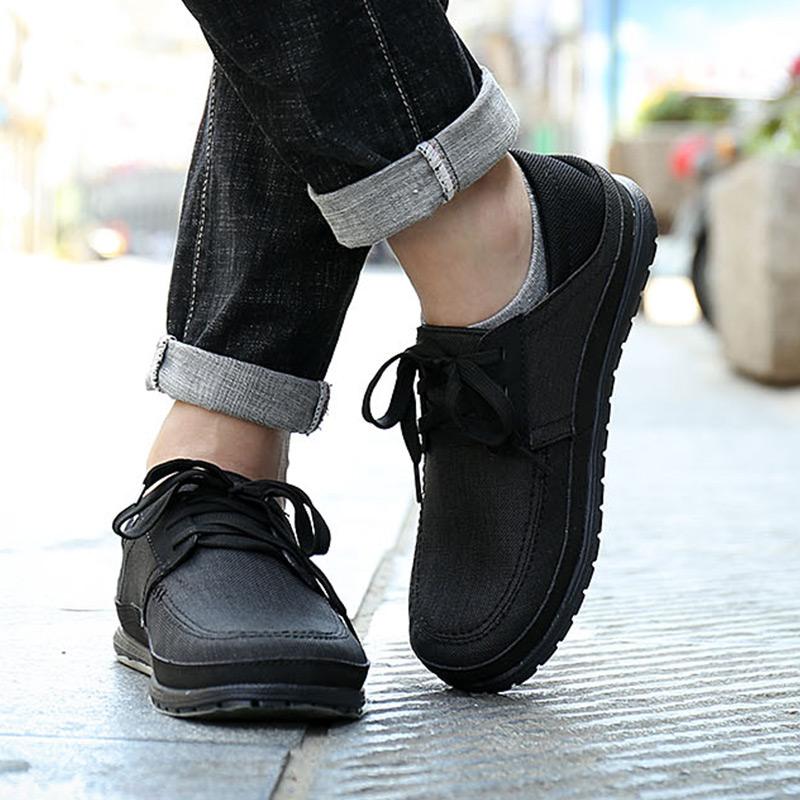 CROCS卡骆驰男鞋2018秋季新款板鞋低帮帆布鞋一脚蹬休闲鞋204837