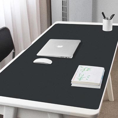 双面桌垫 超大号防水电脑键盘鼠标垫办公桌面垫子皮革可定制