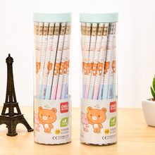 Children's Writing Pencil 2B Writing Pen HB Pencil Bucket Stationery Wholesale