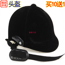 马术头盔加绒面男女儿童骑马服装套头帽马具 买10送1 亏本特价