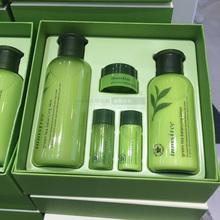 韩国innisfree悦诗风吟绿茶精萃平衡水乳套装 补水保湿图片