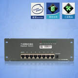 Optical communication full gigabit network switch module 1000M high-speed port weak current box optical fiber box module