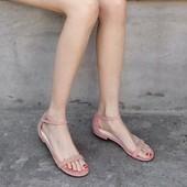 2018夏季新款一字扣带罗马平跟平底凉鞋韩版百搭学生韩国简约女鞋