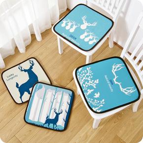 优思居 夏季办公室冰丝坐垫 透气座椅垫餐椅凳子垫汽车坐垫沙发垫