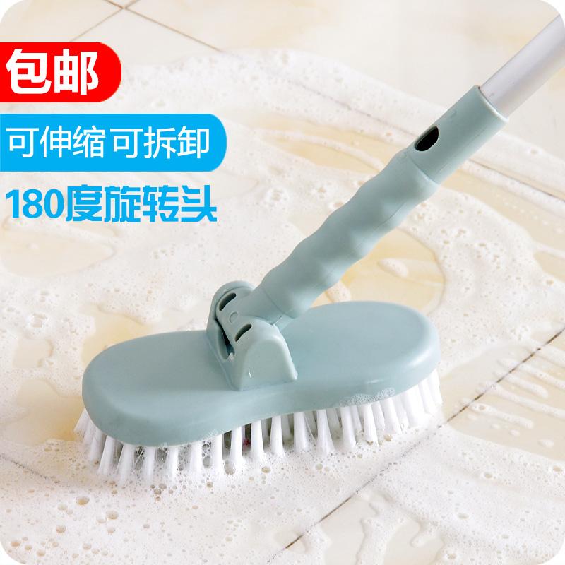 优思居 浴室地板刷 硬毛长柄清洁刷卫生间地砖瓷砖刷厕所洗地刷子