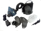 New 3M7502 electric air and dust mask welding rust stone polished industrial dust car painting