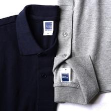 [プロモーション59元2]ポロシャツ半袖緩い大きいサイズのメンズビジネスカジュアルソリッドカラーTシャツの襟のカスタム